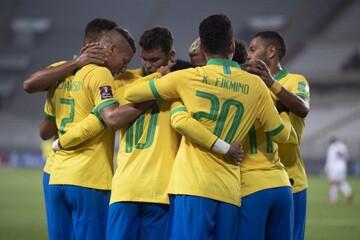 برد دوباره برزیل با هتتریک نیمار و فرار کلمبیا از شکست در آخرین دقیقه