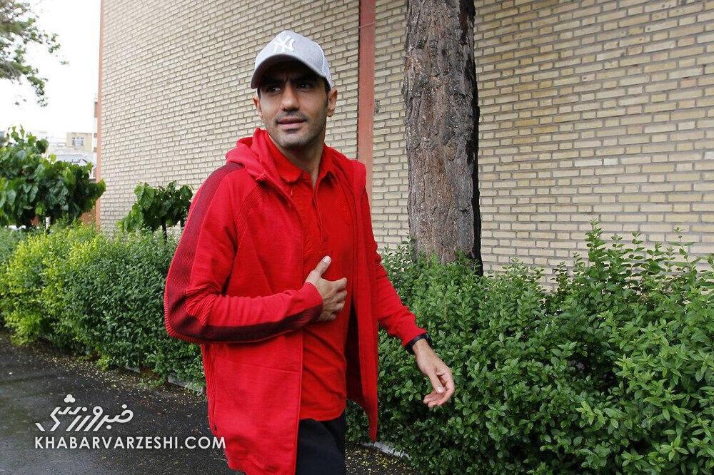 محسن ربیعخواه در راه اصفهان