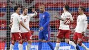 ویدیو| خلاصه بازی انگلیس ۰-۱ دانمارک