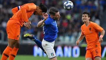 ویدیو| خلاصه بازی ایتالیا ۱-۱ هلند