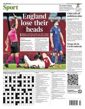 روزنامه تایمز| انگلیس عقلش را از دست داد