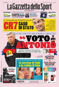 روزنامه گاتزتا| من به آنتونیو رأی میدهم