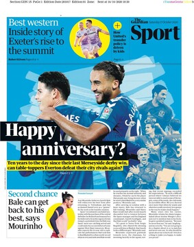 روزنامه گاردین| جشن سالگرد؟