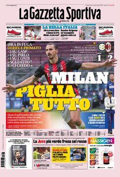 روزنامه گاتزتا| میلان، همه را بگیر