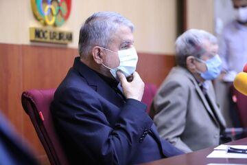 صالحی امیری رئیس کمیته المپیک به کرونا مبتلا شد