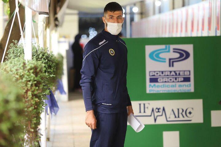 گزارش تصویری  حضور سپاهانی برای تست های پیش فصل در ایفمارک