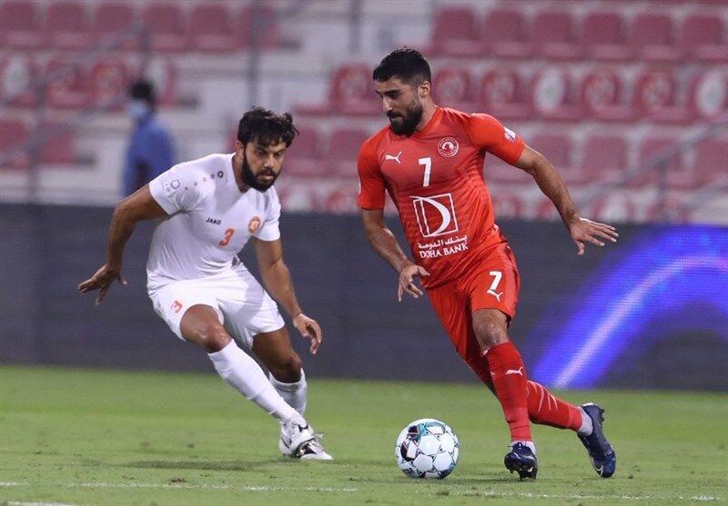 تمجید رسانه قطری از مهرداد محمدی ستاره العربی