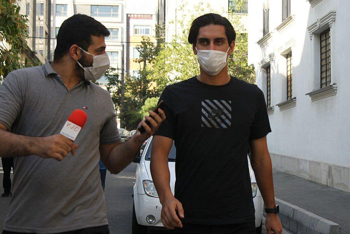 محمد نادری به باشگاه پرسپولیس رفت