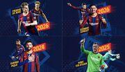 بارسلونا شبانه با چهار بازیکن تمدید کرد!