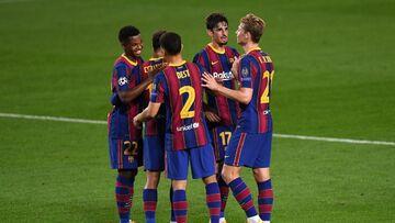 ویدیو| خلاصه بازی بارسلونا ۵-۱ فرنتسواروش