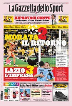 روزنامه گاتزتا| موراتا ۲کامبک