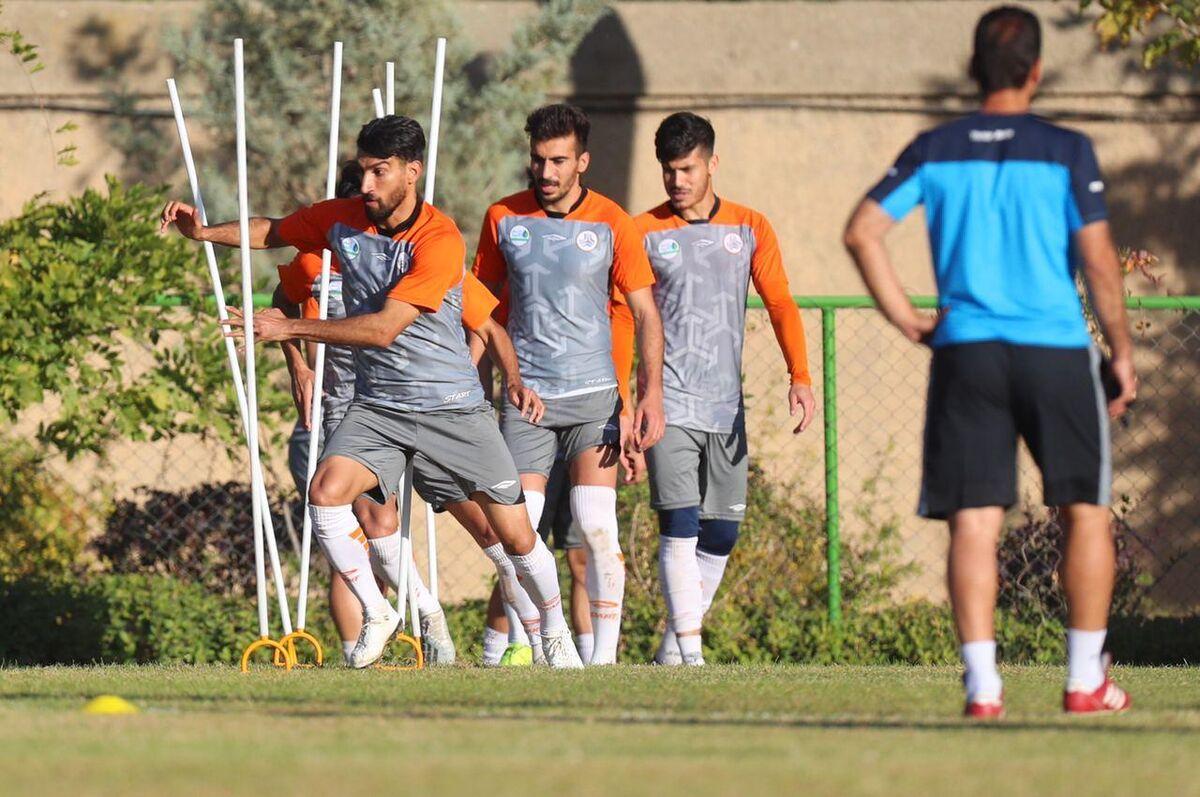 گزارش تصویری  اردوی آماده سازی تیم فوتبال سایپا در کردان