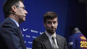 انتقاد تند جرارد پیکه از مدیران باشگاه بارسلونا