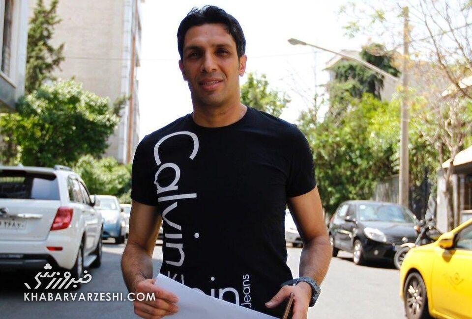 حمله سپهر حیدری به مهدی رسولپناه، سرپرست باشگاه پرسپولیس