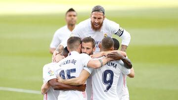 رئالمادرید الکلاسیکوی کرونا را فتح کرد؛ بارسلونا پس از ۴ سال در نوکمپ باخت