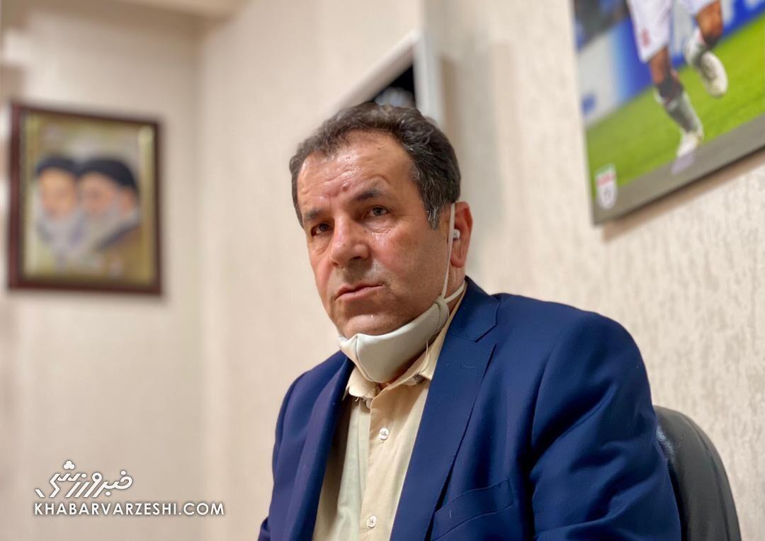 فریدون اصفهانیان: نامهای مبنی بر اینکه متهم هستم، نگرفتم