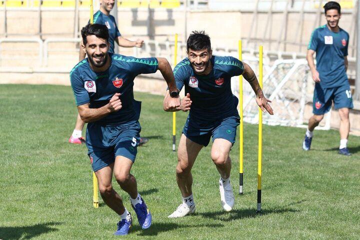 گزارش تصویری| تمرین شاداب پرسپولیسی ها زیرنظر گل محمدی