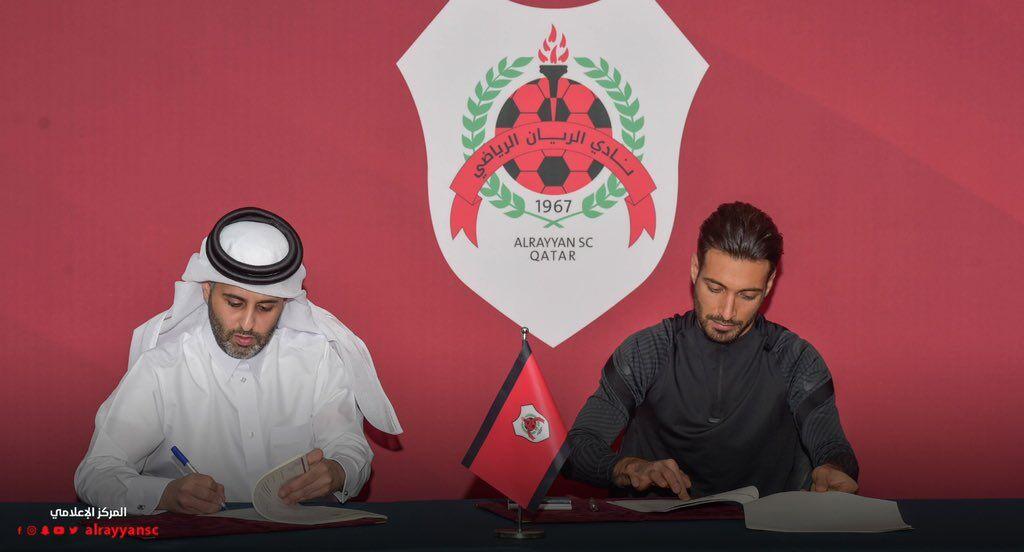 رقم قرارداد شجاع خلیلزاده با الریان قطر
