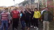 ویدیو| شعار هواداران معترض سپیدرود مقابل باشگاه