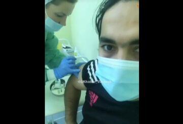 ویدیو| روحانی واکسن کرونا زد