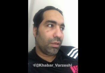 ویدیو| توضیحات حسین روحانی پس از زدن واکسن کرونا