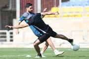 هیجان در تمرین پرسپولیس با کریخوانی گلمحمدی با بازیکنان