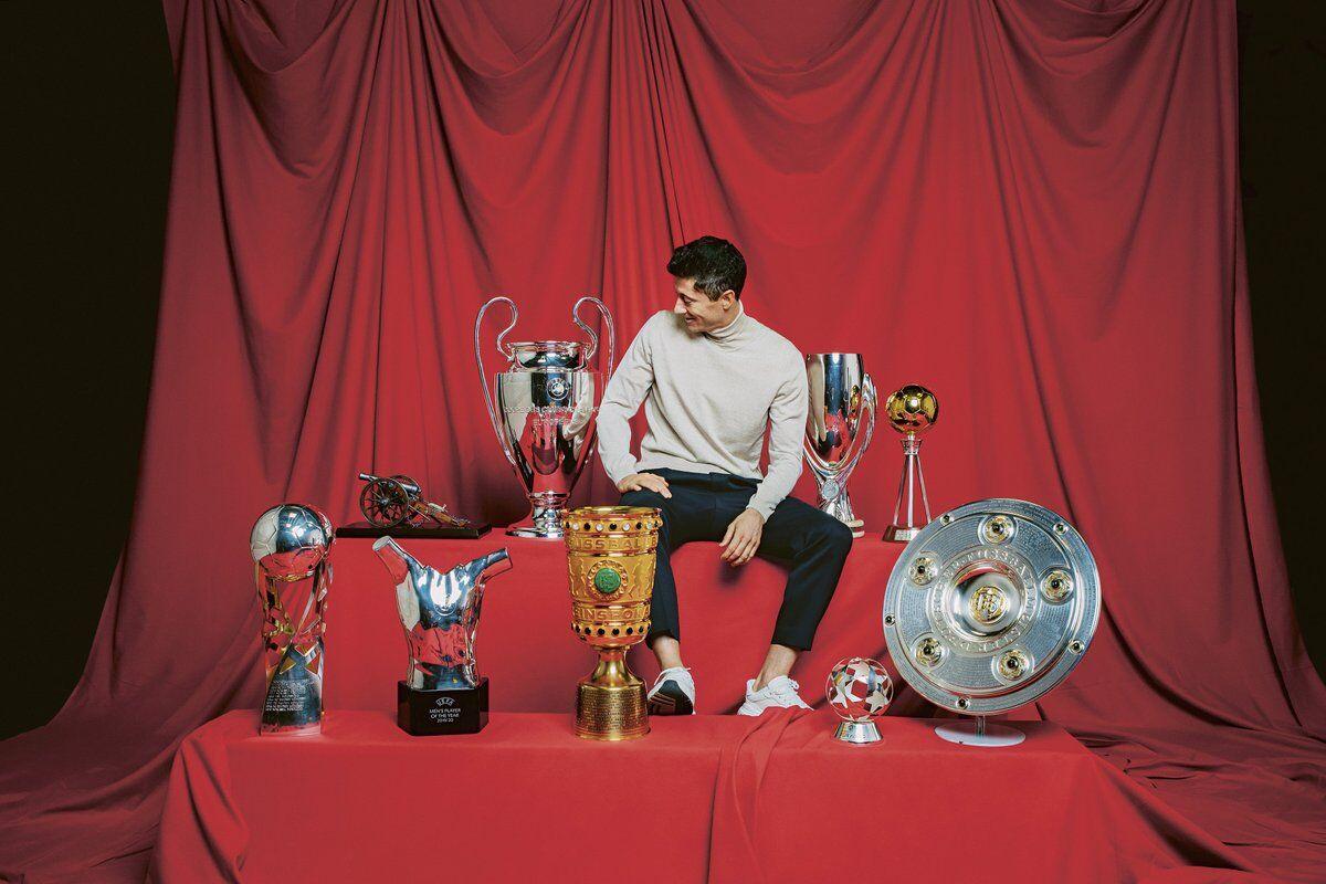 عکس| روبرت لواندوفسکی؛ پرافتخارترین بازیکن سال