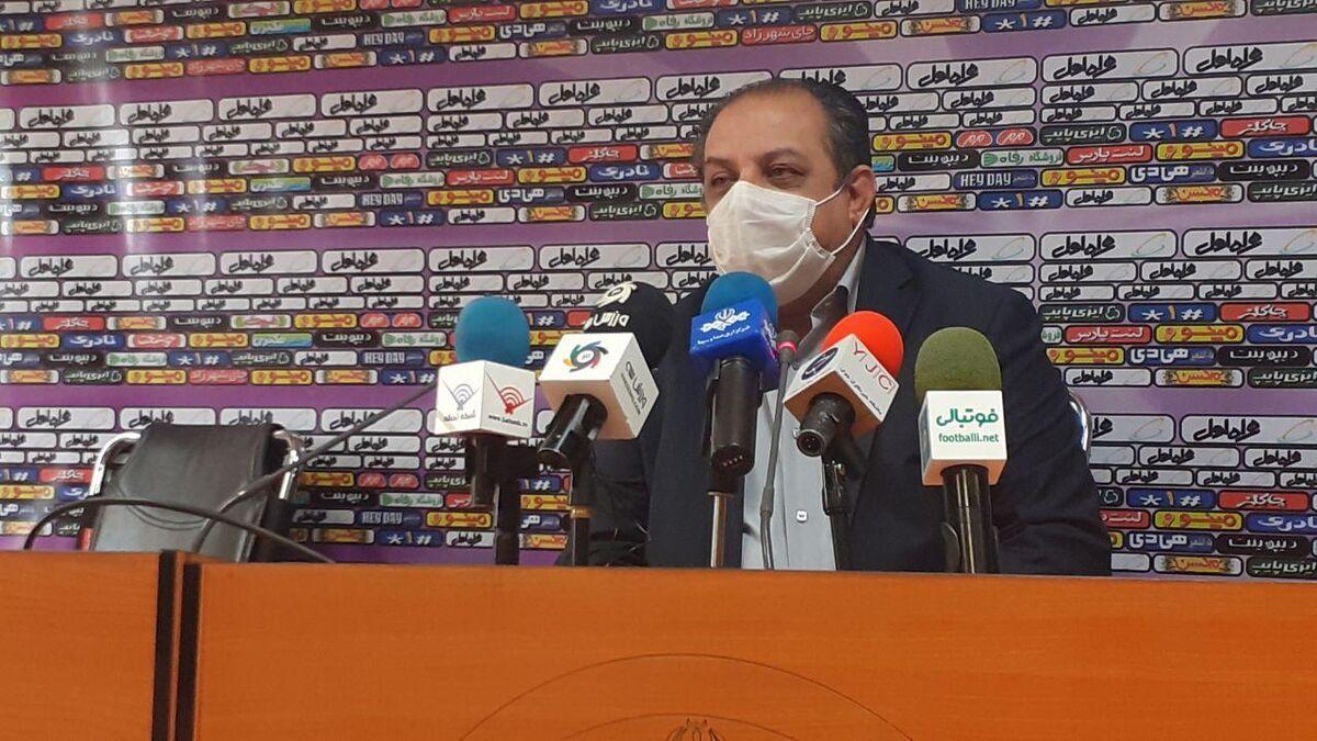 سهیل مهدی: تاکنون برنامه هفته اول لیگ برتر فوتبال به تاخیر نیفتاده است