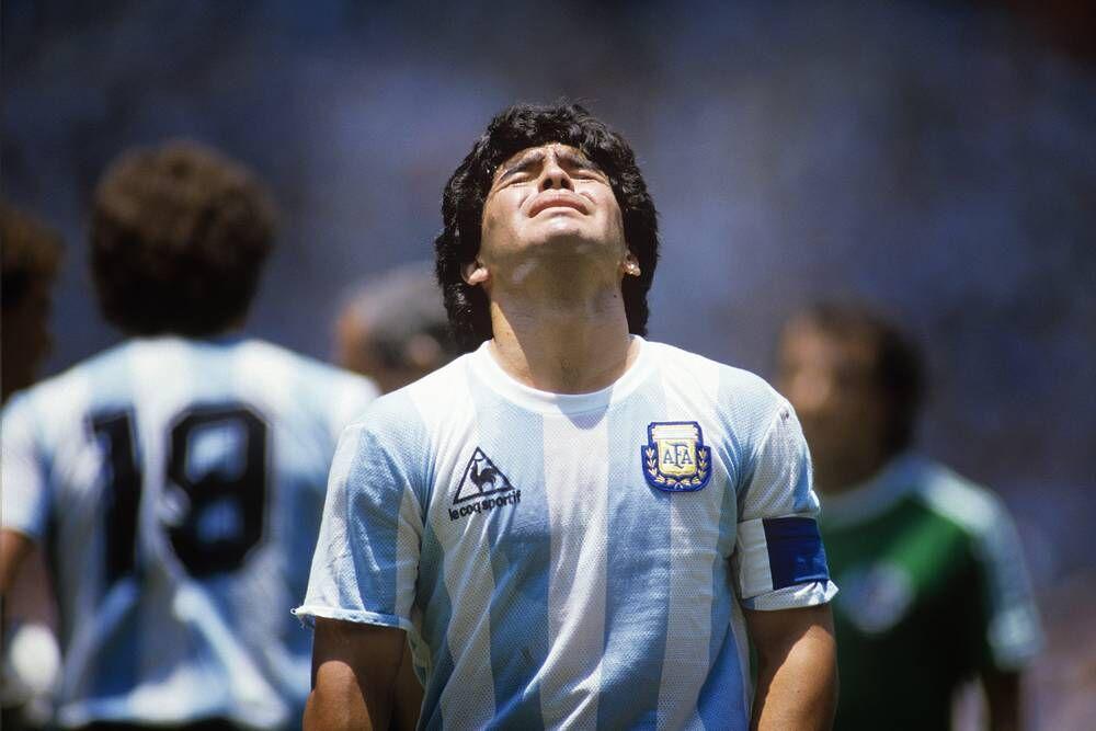 عکس| دیگو مارادونا به شکلی که کمتر دیده بودید