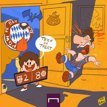 کارتون| هالووین مبارک!