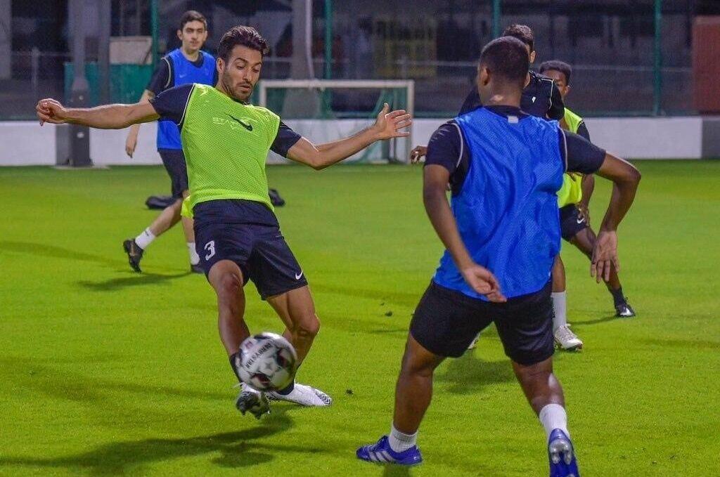 تقابل شجاع خلیلزاده و پژمان منتظری در لیگ قطر