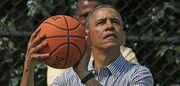 ویدیو| پرتاب سه امتیازی باراک اوباما در کمپین انتخاباتی بایدن
