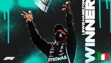 لوئیس همیلتون در ایتالیا هم اول شد