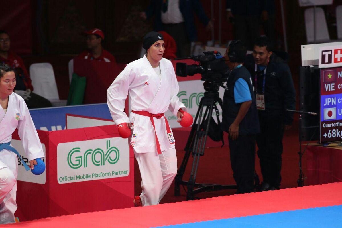 برنز عباسعلی و گنج زاده در کاراته وان پرتغال/ نمایش ضعیف کاراته بانوان با یک برنز