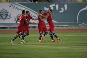 گزارش تصویری| پیروزی پر گل نساجی مازندران مقابل آلومینیوم اراک