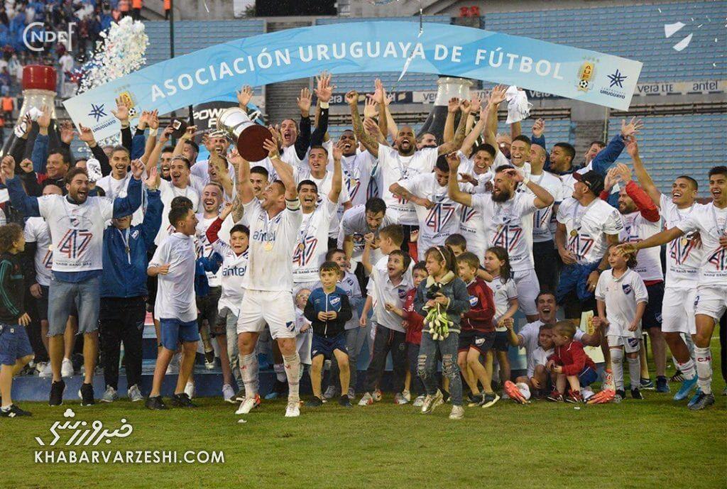 قهرمانی ناسیونال در لیگ برتر اروگوئه