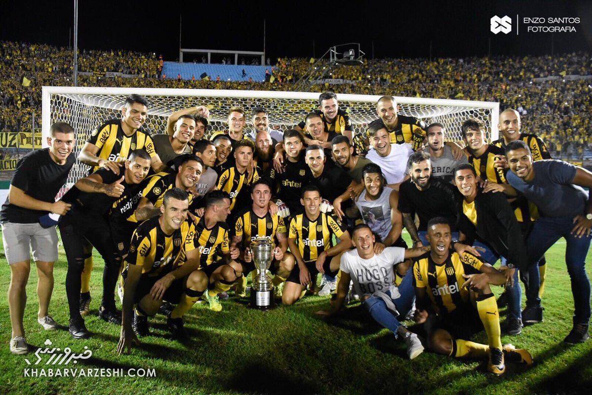 قهرمانی پنیارول در لیگ برتر اروگوئه
