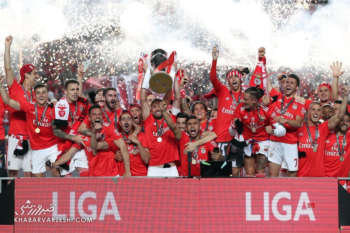 قهرمانی بنفیکا در لیگ برتر پرتغال