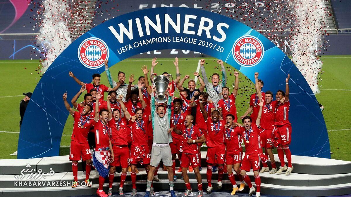 قهرمانی بایرنمونیخ در لیگ قهرمانان اروپا