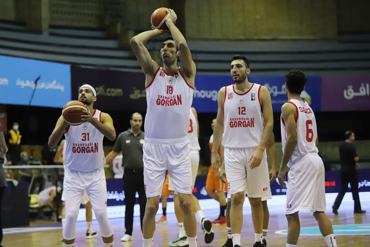 شهرداری گرگان به نیمه نهایی بسکتبال رسید