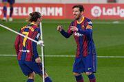 بارسلونا پس از ۴ بازی پیروز شد