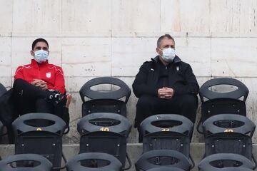 دراگان اسکوچیچ تماشاگر بازیهای پرسپولیس و استقلال