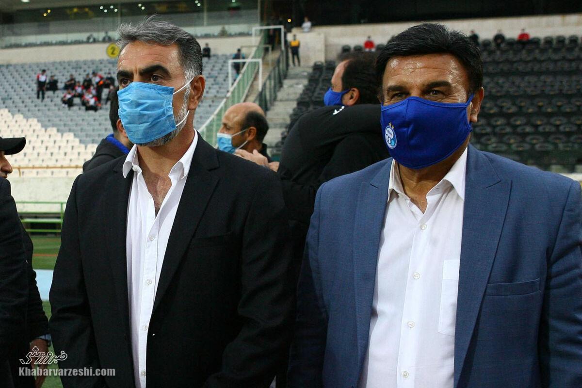 پرویز مظلومی: کسی که اسمش را فوتبالیست ملی گذاشته، واقعیت را نمیگوید!