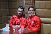 گزارش تصویری| اعضای تیم ملی فوتبال در فرودگاه برای اعزام به بوسنی و هرزگوین