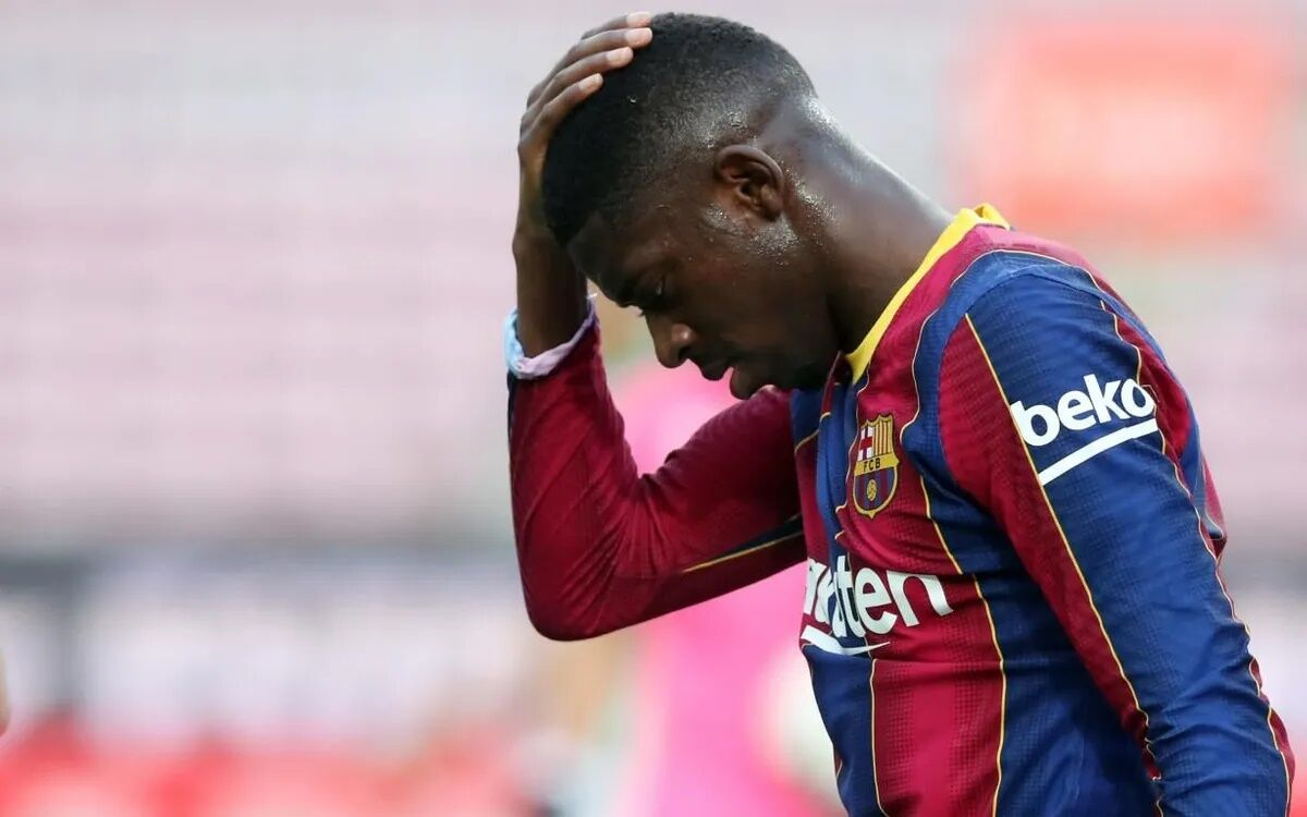 عثمان دمبله اجازه جدایی از بارسلونا را ندارد