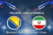 پخش زنده بازی ایران - بوسنی از شبکه سه
