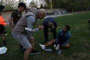 تصاویر| بلایی که سر محمدحسین میثاقی آوردند
