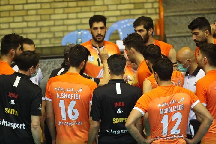 گزارش تصویری| دیدار تیمهای سایپا و شهداب یزد در لیگ برتر والیبال