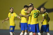 پیروزی خفیف و صدرنشینی برزیل
