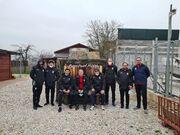 عکس  حضور اعضای تیم ملی در تونل نجات
